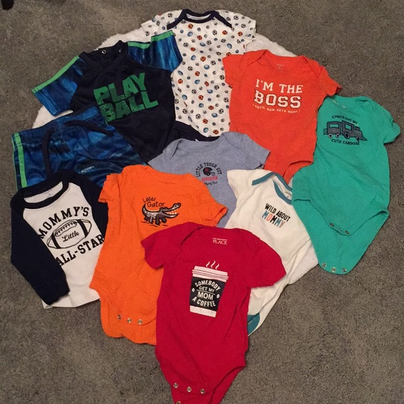 Carter S Matching Sets Bundle Of 10 36 Month Old Baby Boy Clothes